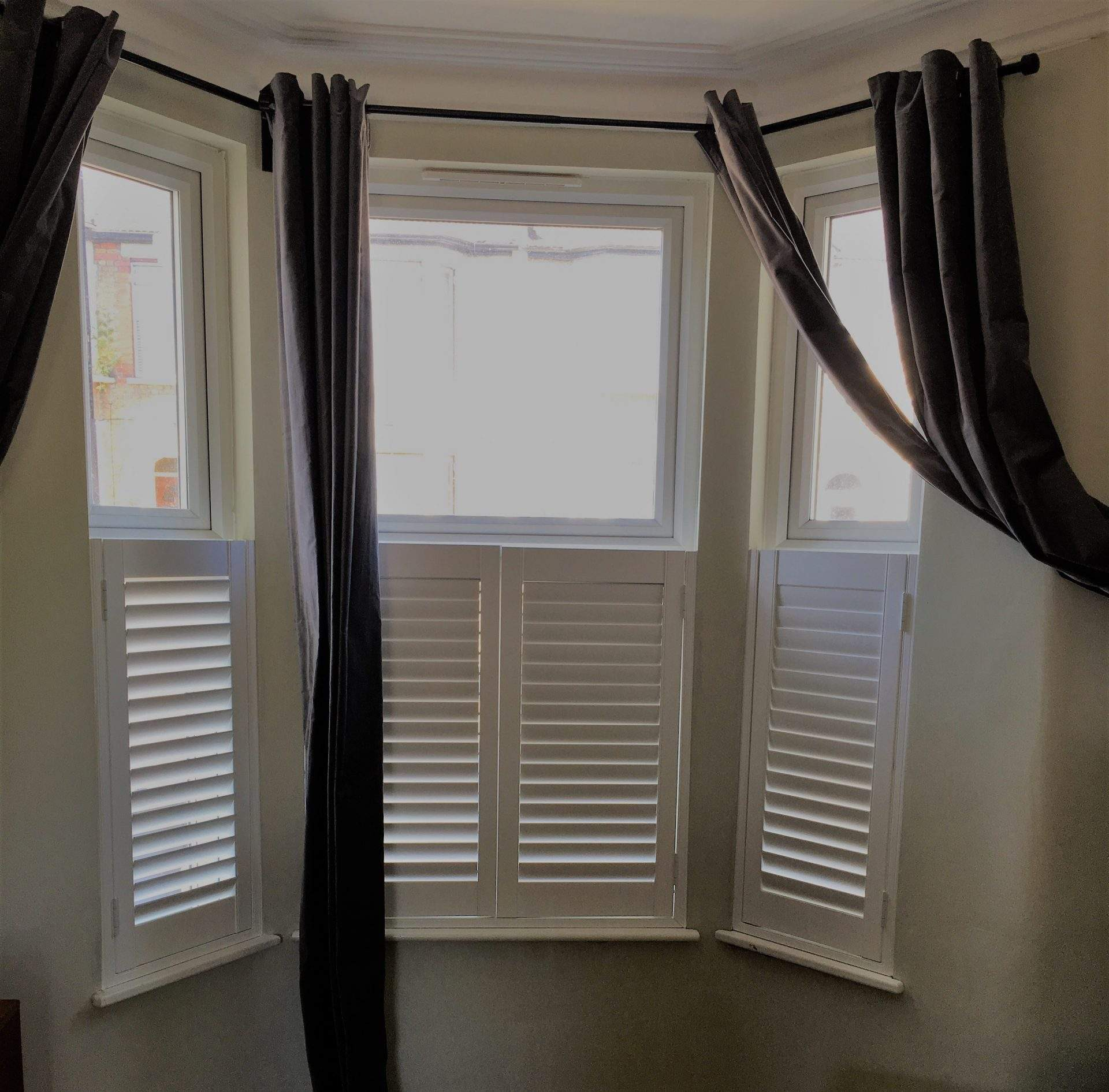 Cafe Style Shutters London