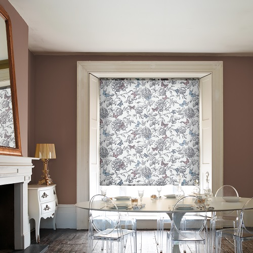 Aporia Floral Window Roller Blinds