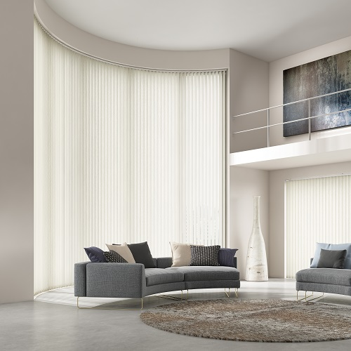 Aria Vanilla Warm White Vertical Blind