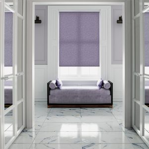 Nina Mulberry Window Roller Blinds