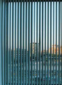 Vertical blinds in Stratford